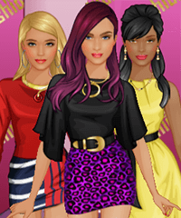 BFF Fashion Week Dress Up Game