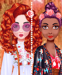 My Boho Avatar Dress Up Game