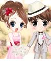 Flower Bride Dress Up Game