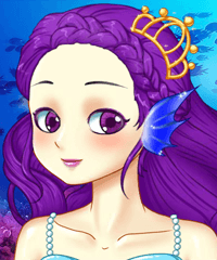 Mermaid Make Up Game