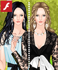 Fairy-Like Gowns Dress Up Game