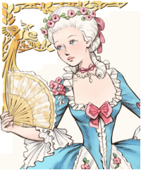 French Court Dress Up Game