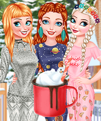 Baby Its Cold Outside Dress Up Game