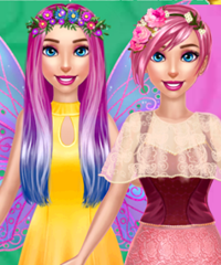 Bonnie Fairy vs Princess Dress Up Game