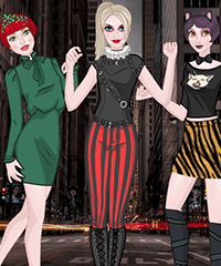Harley Quinn and Friends Dress Up Game