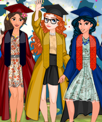 Princess Graduation Dress Up Game