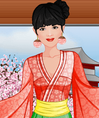 Fashion Studio Kimono Design Game