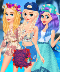 Disney College Spring Break Parties Dress Up Game