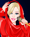 Barbie Lady Gaga Style Dress Up Game