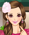 Pink Princess Make Up and Dress Up Game