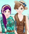 BFF Color of Summer Dress Up Game