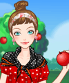 Picking Apples Dress Up Game