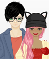Just be Friends Dress Up Game