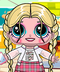 Soft Girl LOL Dolls Dress Up Game