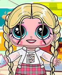 Soft Girl LOL Dolls Dress Up Game