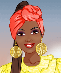 Fashion Studio African Fashion Design Game