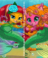 Mermaid Kitty Maker Game