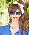 Summer Shirtdress Dress Up Game