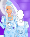 Fashion Studio Ice Queen Outfit Design Game