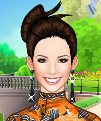 Asian Beauty Dress Up Game