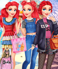 Ariel Year Round Fashionista Game