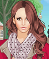 Stylish Scarves Dress Up Game