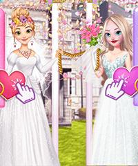 dress up games dating friends wedding