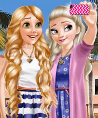 Princess Selfie Time Dress Up Game