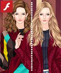 Color Game Marsala Red Dress Up Game