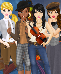 Team Sherlock Dress Up Game