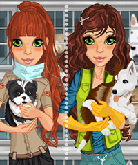 Animal Shelter Dress Up Game
