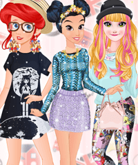 Princess London vs Tokyo Dress Up Game