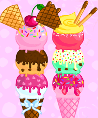 Bunny Ice Cream Maker Game