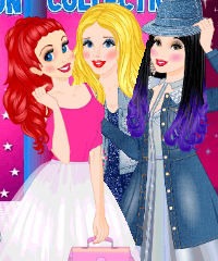 Princess Denim Collection Dress Up Game