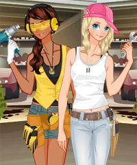 Mechanic Dress Up Game