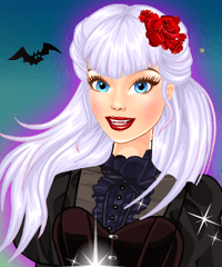 High Style Vampire Dress Up Game