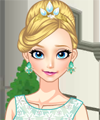 Elsa Tiara Dress Up Game