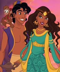 Arabian Nights Scene Maker Game