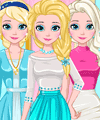 Elsa Casual and Chic Dress Up Game
