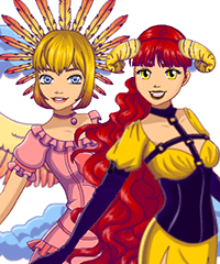 Angel or Demon Avatar Maker Game