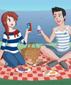 Picnic Date Dress Up Game