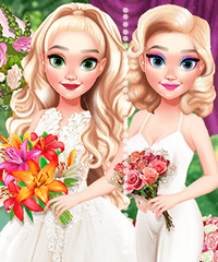 Elsa Wedding Planner Dress Up Game