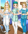 Doctors and Nurses Dress Up Game