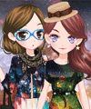 Star Girls Dress Up Game