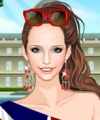 English Rose Dress Up Game