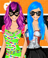 Halloween Best Friends Dress Up Game