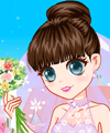 Big Eyes Bride Dress Up Game