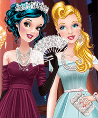 Princess Vintage Prom Gowns Game