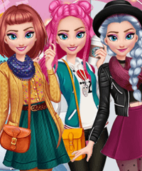 Elsa Autumn Lookbook Game