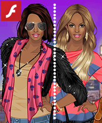 Street Stylish Dress Up Game